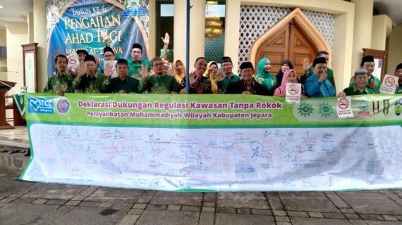 Muhammadiyah Jepara Dukung Regulasi Kawasan Tanpa Asap Rokok