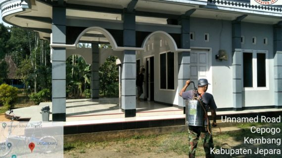 Kokam Serbu Fasilitas Muhammadiyah Cepogo Untuk Mencegah Covid- 19