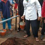 Ketua PDM Jepara Letakkan Batu Pertama Masjid At- Taqwa Mayong Kidul