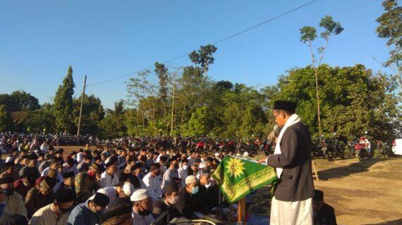 PRM Plajan  Adakan Sholat Idul Adha Di Lapangan, Ketua PCM Pakis Aji Jadi Khotib