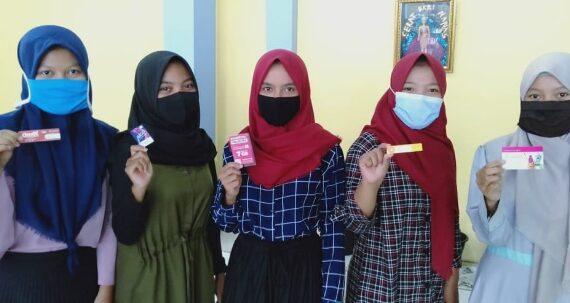 SMK Muhammadiyah Keling Bagikan Kuota Gratis Untuk Hadapi UTS Daring