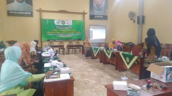 PD Aisyiyah Majelis Dikdasmen Gelar Sosialisasi Sipendi