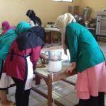 SMK Muhammadiyah 01 Keling Unjuk Kemampuan Praktek