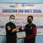 Peringati HKBN, MDMC Jepara Beri Penghargaan kepada Ortom dan Lembaga