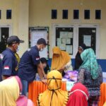 LAZISMU Dan PDNA Jepara Adakan Pasar Murah, KOKAM Plajan Turut Sukseskan